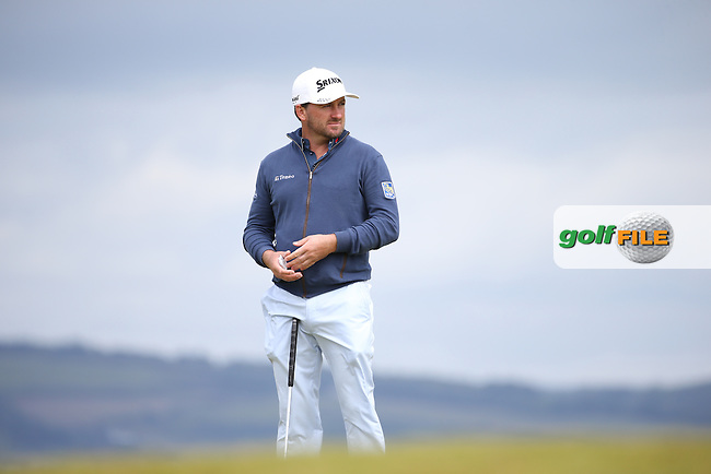 Graeme McDowell (NIR) during the First Round of the 2016 Aberdeen Asset Management Scottish Open, played at Castle Stuart Golf Club, Inverness, Scotland. 07/07/2016. Picture: David Lloyd   Golffile.<br /> <br /> All photos usage must carry mandatory copyright credit (&copy; Golffile   David Lloyd)