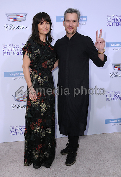 11 June 2016 - Los Angeles. Rosetta Getty, Balthazar Getty. Arrivals for the 15th Annual Chrysalis Butterfly Ball held at a Private Mandeville Canyon Residence. Photo Credit: Birdie Thompson/AdMedia
