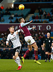 Mark Duffy of Sheffield Utd and Conor Hourihane of Aston Villa during the Championship match at Villa Park Stadium, Birmingham. Picture date 23rd December 2017. Picture credit should read: Simon Bellis/Sportimage