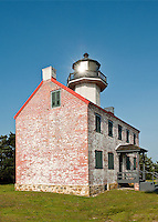 East Point Lighthouse on the Deleware Bay, New Jersey, USA
