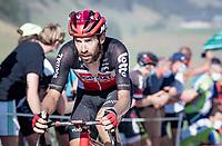 Thomas de Gendt (BEL/Lotto-Soudal) at the gravel section atop the Montée du plateau des Glières (HC/1390m)<br /> <br /> Stage 18 from Méribel to La Roche-sur-Foron (175km)<br /> <br /> 107th Tour de France 2020 (2.UWT)<br /> (the 'postponed edition' held in september)<br /> <br /> ©kramon