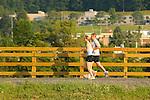 Runners on Riverwalk. Williamsport, PA.