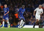 12th September 2017, Stamford Bridge, London, England; UEFA Champions League Group stage, Chelsea versus Qarabag FK; Ngolo Kante of Chelsea in action