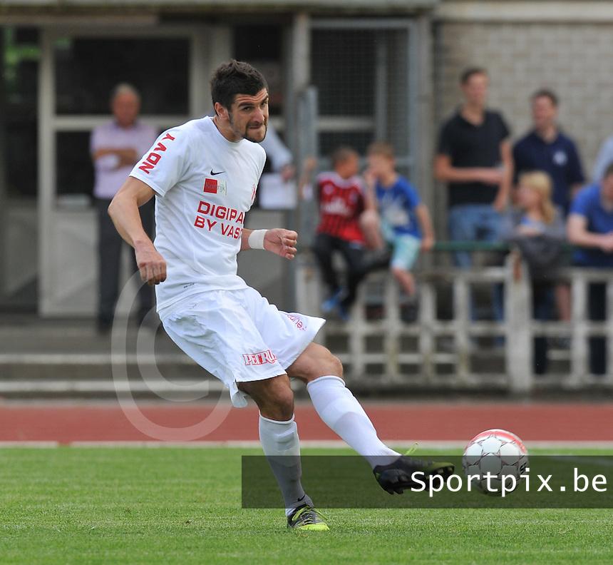 KV Kortrijk : Stefan Mitrovic.foto VDB / BART VANDENBROUCKE