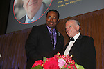 Dr. Valentin Fuster in honored - As The World Turns' Lamman Rucker is Master of Ceremonies at the 7th Annual Spirit of the Heart Awards - Dinner for the Association of Black Cardiologists honoring Dr. Valentin Fuster on October 1, 2016 at Cipriani 42nd Street, New York City, New York. (Photo by Sue Coflin/Max Photos)