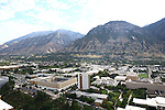 1309-22 0323<br /> <br /> 1309-22 BYU Campus Aerials<br /> <br /> Brigham Young University Campus West looking East, Provo, Sunrise, Y Mountain,  Kimball Tower SWKT, Joseph F. Smith Building JFSB, Talmage Building TMCB, Benson Building BNSN, Joseph Smith Building JSB, Brimhall Building BMRB, Grant Building HGB, Eyring Science Center ESC <br /> <br /> September 6, 2013<br /> <br /> Photo by Jaren Wilkey/BYU<br /> <br /> © BYU PHOTO 2013<br /> All Rights Reserved<br /> photo@byu.edu  (801)422-7322
