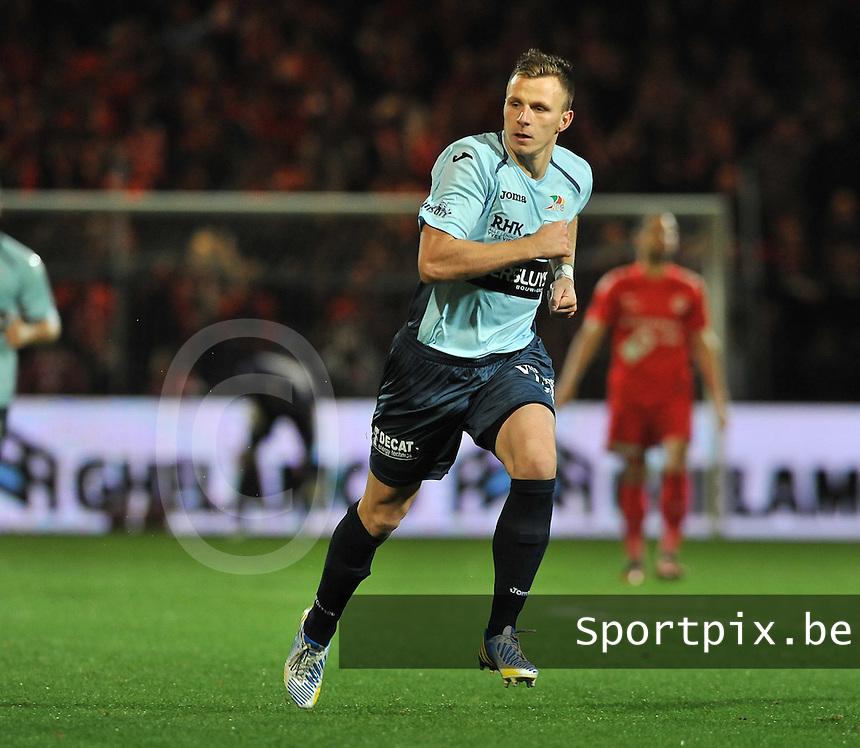 KV Kortrijk - KV Oostende : Frederic Brillant<br /> foto VDB / Bart Vandenbroucke