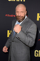 """LOS ANGELES - FEB 29:  Paul Levesque at the """"Andre The Giant"""" HBO Premiere at the Cinerama Dome on February 29, 2018 in Los Angeles, CA"""