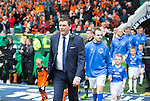 St Johnstone v Dundee United....17.05.14   William Hill Scottish Cup Final<br /> Tommy Wright leads St Johnstone out onto the pitch<br /> Picture by Graeme Hart.<br /> Copyright Perthshire Picture Agency<br /> Tel: 01738 623350  Mobile: 07990 594431