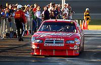 Feb 29, 2008; Las Vegas, NV, USA; NASCAR Sprint Cup Series driver Kasey Kahne during qualifying for the UAW Dodge 400 at Las Vegas Motor Speedway. Mandatory Credit: Mark J. Rebilas-