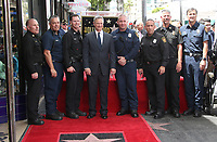 17 April 2017 - Hollywood, California - Gary Sinise, LAFD. Gary Sinise Honored With Star On The Hollywood Walk Of Fame.<br /> CAP/ADM<br /> &copy;ADM/Capital Pictures