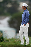 Thorbjorn Olesen (DEN) on the 5th tee during the 2nd round of the US Open Championship, Pebel Beach Golf Links, Monterrey, Calafornia, USA. 14/06/2019.<br /> Picture Fran Caffrey / Golffile.ie<br /> <br /> All photo usage must carry mandatory copyright credit (© Golffile | Fran Caffrey)