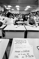 1987 File Photo - Montreal, Quebec CANADA -