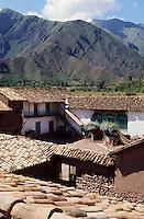 Amérique/Amérique du Sud/Pérou/Env d'Urubamba : L'Acienda a Yaraulca