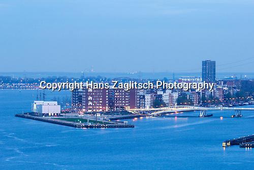 Blick auf Java eiland, Amsterdam