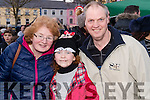 Margaret and Billy Savage with Mairead O'Mahony (Lixnaw and Causeway), pictured at the Coca Cola Truck in Listowel on Sunday last.