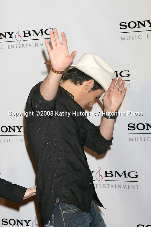 Brad Paisley.Sony BMG Post Grammy Party.Beverly Hills Hotel.Beverly Hills, CA.February 10, 2008.©2008 Kathy Hutchins / Hutchins Photo....