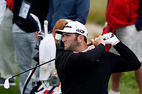 Jon Ram (ESP) tees off on the 12th hole during the Wednesday practice round of the 118th U.S. Open Championship at Shinnecock Hills Golf Club in Southampton, NY, USA. 13th June 2018.<br /> Picture: Golffile | Brian Spurlock<br /> <br /> <br /> All photo usage must carry mandatory copyright credit (&copy; Golffile | Brian Spurlock)