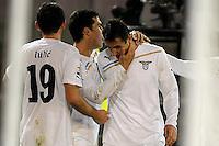 """Miroslav KLOSE Lazio.Goal Celebration.Lecce 10/12/2011 Stadio """"Via del MAre"""".Football Calcio Serie A 2011/2012.Lecce Vs Lazio.Foto Insidefoto ."""