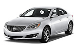 2017 Buick Regal Sport-Touring 4 Door Sedan Angular Front stock photos of front three quarter view