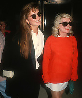 Brooke Shields, Debbie Harry 1987, Photo By John Barrett/PHOTOlink