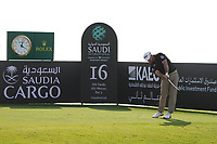 Graeme McDowell (NIR) on the 16th during Round 4 of the Saudi International at the Royal Greens Golf and Country Club, King Abdullah Economic City, Saudi Arabia. 02/02/2020<br /> Picture: Golffile | Thos Caffrey<br /> <br /> <br /> All photo usage must carry mandatory copyright credit (© Golffile | Thos Caffrey)
