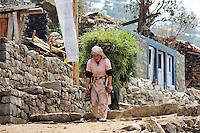 Day 001 Everest Base Camp Trek  - Lukla to Phakding