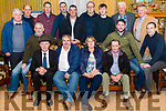 Killorglin & District Gun Club Annual Dance in aid of The Healthy Hearts Fund at University Hospital Kerry. Pictured are front l-r Pat Foley, Michael Healy Rae, Dominic Flatley, Geraldine O'Sullivan John West Michael Foley and Michael Flynn, back l-r Chris Ahern, Jeremy Costelloe, Kevin Poff, Mark Poff, Mike O'Shea, Mike O'Shea, Timmy Fealey, Con O'Shea and Herbert Poff in the Manor Inn, Killorglin last Saturday night.