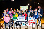Support<br /> ---------<br /> Pictured last Thur Feb 5th at  the launch of the Down Syndrome Ireland, Kerry branch 'Night at the Dogs' which is on Feb 28th next at the Kingdom Greyhound stadium,Tralee,please support.