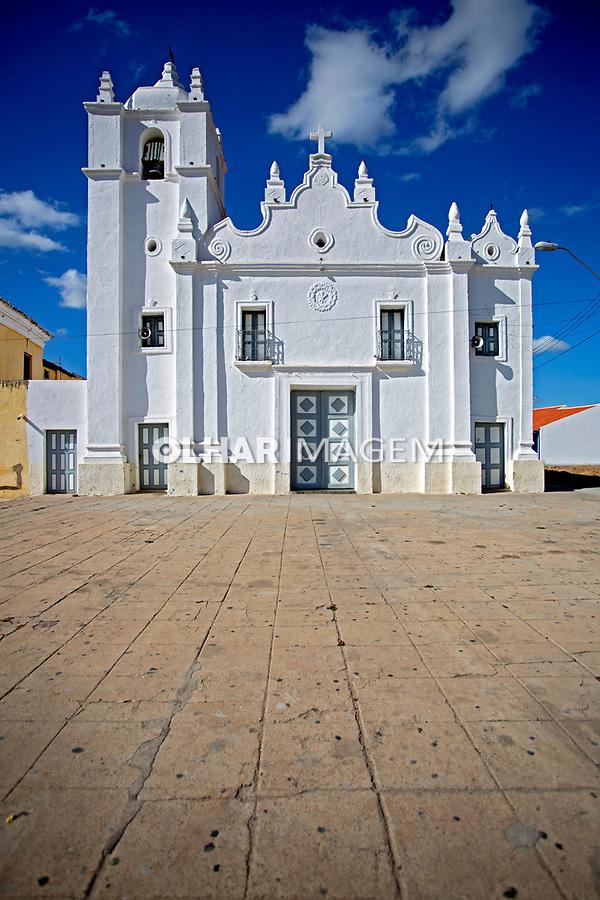 Fachada de igreja na cidade de Ico. Ceara. 2014. Foto de Olga Leiria.