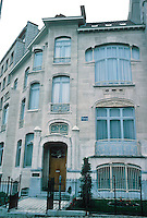 Victor Horta: House at No. 2 Ave. Palmerston. Next door to Hotel Van Eetveld. (Actually looks like a Guimard.)
