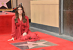a_Idina Menzel -Star WofF 010 ,  Kristen Bell And Idina Menzel  Honored With Stars On The Hollywood Walk Of Fame on November 19, 2019 in Hollywood, California
