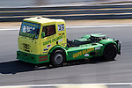Spanish driver Orlando Rodriguez Ruiz belonging Spanish team Orlando Rodriguez Ruiz during the third race R3 of the XXX Spain GP Camion of the FIA European Truck Racing Championship 2016 in Madrid. October 02, 2016. (ALTERPHOTOS/Rodrigo Jimenez)