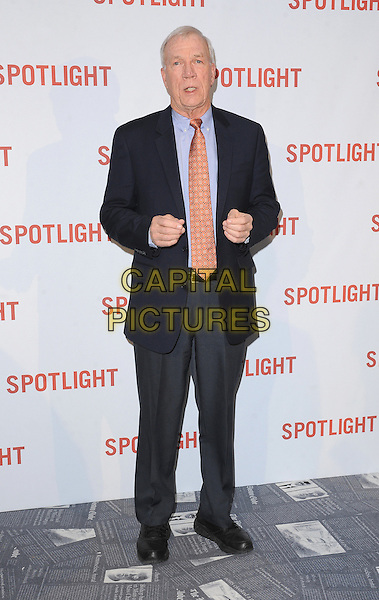 LONDON, ENGLAND - JANUARY 20: Walter 'Robby' Robinson attends the UK Premiere of Spotlight at the Washington Hotel and Curzon Mayfair on January 20, 2016 in London, England.<br /> CAP/BEL<br /> &copy;Tom Belcher/Capital Pictures