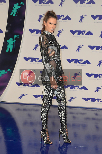 Alessandra Ambrosio<br /> at the 2017 MTV Video Music Awards, The Forum, Inglewood, CA 08-27-17<br /> David Edwards/DailyCeleb.com 818-249-4998