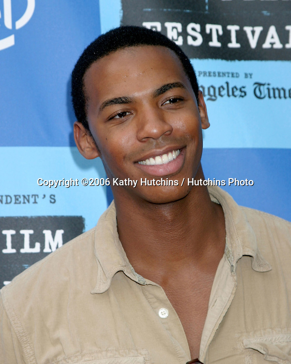 """Mehcad Brooks.""""The Lather Effect"""" Premiere.Mann's Festival Theater.Westwood, CA.June 26, 2006.©2006 Kathy Hutchins / Hutchins Photo...."""