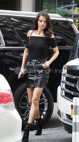 NEW YORK, NY August 28, 2017 Adriana Lima at Victoria Secret Fitting at Victoria Secret Office in New York August 28 2017.Credit:RW/MediaPunch