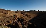 Shadows and rocks,Parque nacional de las Cañadas,Tenerife, Canary islands.  Spain.