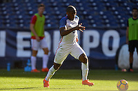 San Diego, CA - Sunday January 29, 2017: Darlington Nagbe during an international friendly between the men's national teams of the United States (USA) and Serbia (SRB) at Qualcomm Stadium.