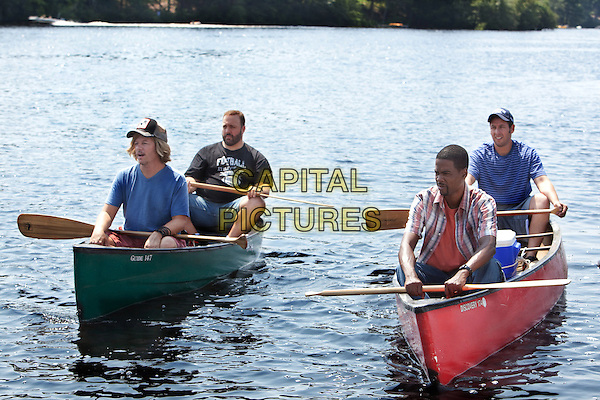 DAVID SPADE, KEVIN JAMES, CHRIS ROCK & ADAM SANDLER .in Grown Ups.*Filmstill - Editorial Use Only*.CAP/FB.Supplied by Capital Pictures.