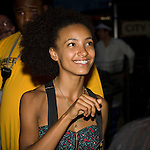Esperanza Spalding backstage at CareFusion Jazz Festival -The McCoy Tyner Quartet With Ravi Coltrane, Esperanza Spalding and Francisco Mela/The Stanley Clarke Band with Hiromi, Central Park Summer Stage 6/23/10