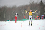 11 MAR 2011: Eliska Hajkova (4) of the University of Colorado during the women's 15km Classical Cross Country races at the 2011 NCAA Men and Women's Division I Skiing Championship held Stowe Mountain Resort and Trapp Family Lodge in Stowe, VT. Hajkova finished first to win the national title. ©Brett Wilhelm/NCAA Photos