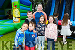 Enjoying the Glenduff Manor Easter Egg Hunt on Sunday were Anto Whattom, Cody Whattom, Timmy Cathal, Shyanne Whattom Isabell Cathal and Joyce Ann Whattom