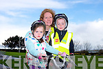 Rose, Ciara and Tom Quilter enjoying the Fenit Coastal Cycle in aid of St. Brendan's NS on Saturday