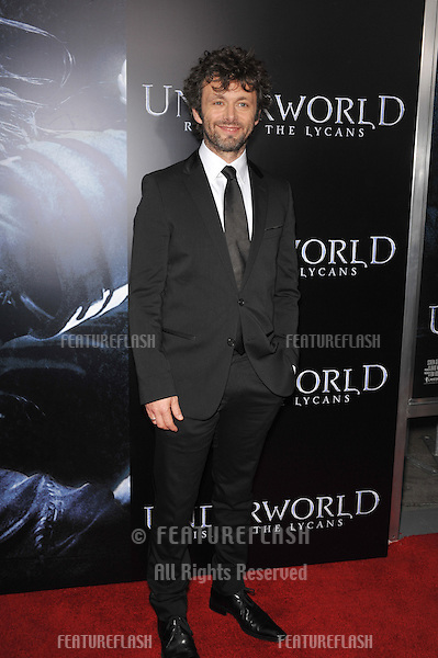"Michael Sheen at the world premiere of his new movie ""Underworld: Rise of the Lycans"" at the Arclight Theatre, Hollywood..January 22, 2009  Los Angeles, CA.Picture: Paul Smith / Featureflash"