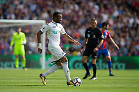 Swansea City's Jordan Ayew in action     <br /> <br /> <br /> Photographer Craig Mercer/CameraSport<br /> <br /> The Premier League - Crystal Palace v Swansea City - Saturday 26th August 2017 - Selhurst Park - London<br /> <br /> World Copyright &copy; 2017 CameraSport. All rights reserved. 43 Linden Ave. Countesthorpe. Leicester. England. LE8 5PG - Tel: +44 (0) 116 277 4147 - admin@camerasport.com - www.camerasport.com