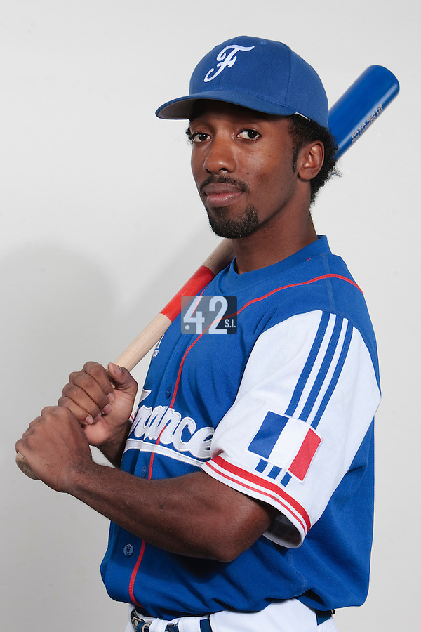 23 july 2010: Felix Brown poses prior to the 2010 European Championship Seniors, in Mulhouse, France.