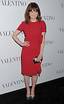 HOLLYWOOD, CA - MARCH 27: Ellie Kemper arrives at the Valentino 50th Anniversary And New Flagship Store Opening On Rodeo Drive at Valentino Boutique on March 27, 2012 in Beverly Hills, California.