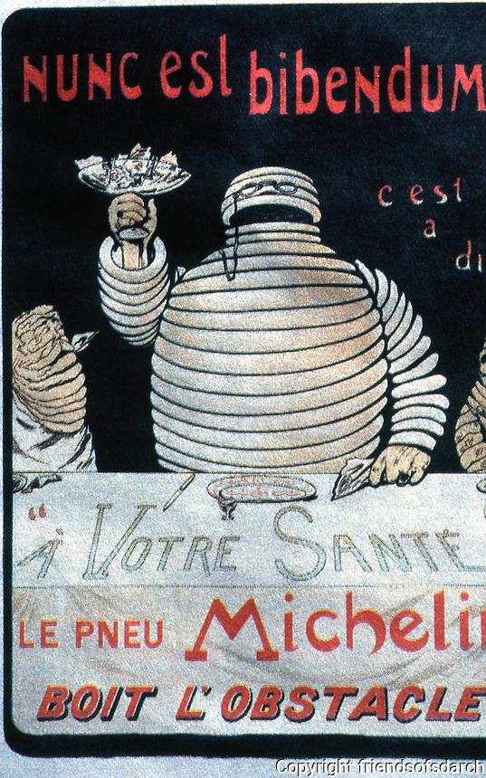 London: Michelin Man. Photo '05.