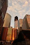 #1 World Trade Center  under construction